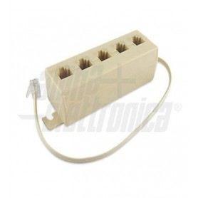 Adattatori telefonici modulari da 1 spina a 5 prese 94-450SOVATEM