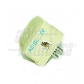 Filtro ADSL da spina 3 poli a presa 3Poli / presa modulare 6P2C 94-970SOVATEM