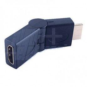 ADATTATORE DA SPINA A PRESA HDMI RUOTABILE +90°/-90° 64-579/10SNSOVATEM