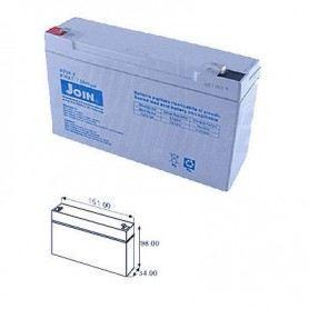 Batteria al piombo 6V 7A BP06-7SOVATEM