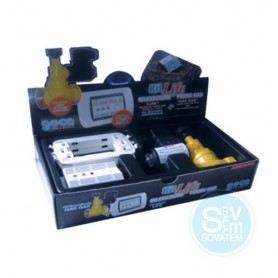 RILEVATORE GAS METANO CON ELETTROVALVOLA 1/2 DA INCASSO 366711-GECA