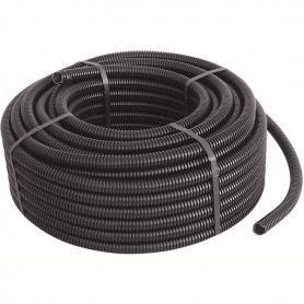 Tubo corrugato Gewiss nero diametro 16-20-25-32 mm matassa da 50 e 100 mt DX15000GEWISS