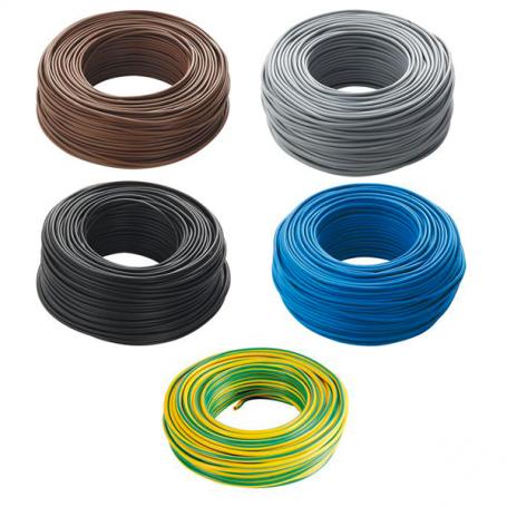 Filo cordina unipolare elettrico diametro 35mmq FS17 vari colori 1mt CEFS35000ITC