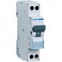 Interruttore magnetotermico HAGER serie MJN 1P+N da 6-10-16-20-25-32A 4,5Ka HAGMJN5000HAGER