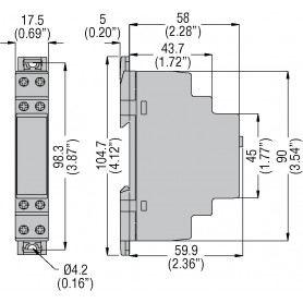 Rele temporizzatore luci scale per condominio TMLS 220VAC TMLSLOVATO