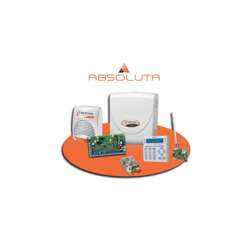 Kit completo antifurto filare bentel absolute 42 for Bentel absoluta 42 prezzo