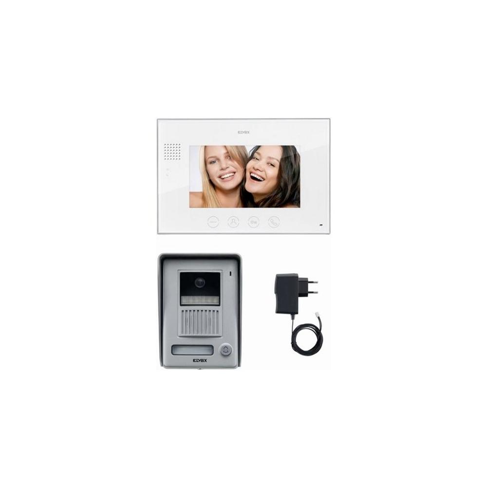 Elvox kit videocitofono 7 pollici monofamiliare a colori for Costo videocitofono