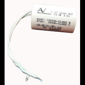 Ricambio originale CAME 119RIR295 - Condensatore µF 10 con cavi CAM119RIR295CAME