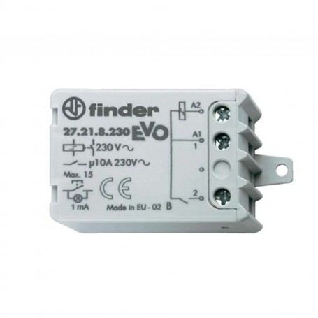 RELE IMPULSI FINDER IP20 INTERRUTTORE 10A-230V 27.21.8.230.0000 FIN27218230000FINDER
