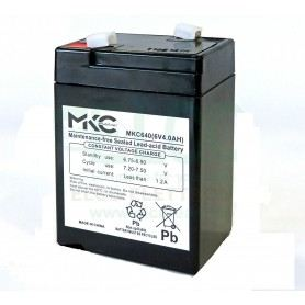 Batteria Piombo 6V - 4.0/4.5Ah - AGM 491460216SOVATEM