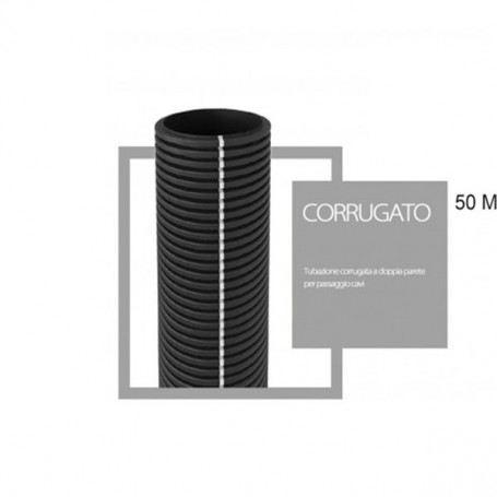 Tubo corrugato cavidotto a doppia parete diametro 50mm matassa da 50 metri RC50SOVATEM