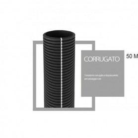 Tubo corrugato cavidotto a doppia parete diametro 40mm matassa da 50 metri RC40SOVATEM