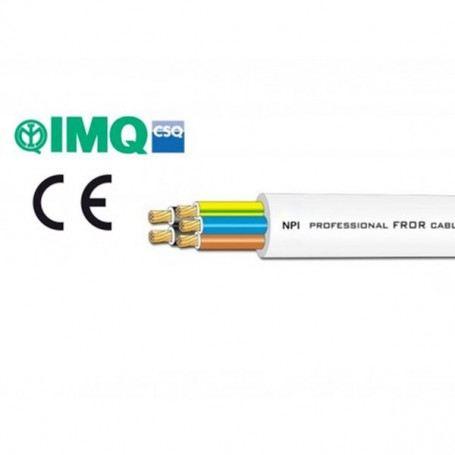 Cavo elettrico FROR pentapolare diametro 5x1-5x1,5-5x2,5mmq al metro CEF5000ITC