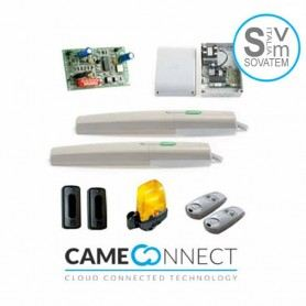 Came Connectkit completo cancello battente anta 2mt AXI AXI20K05 24V 8K01MP-012 CAM001USWN20-010CAME