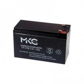 Batteria Ermetica Ricaricabile al Piombo 12V 7Ah PER UPS E CENTRALE ANTIFURTO 491460215SOVATEM