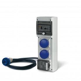 Scame Parre 630.3506-1268 Quadro di Distribuzione Portatile, Grigio S630.3506-1268SCAME