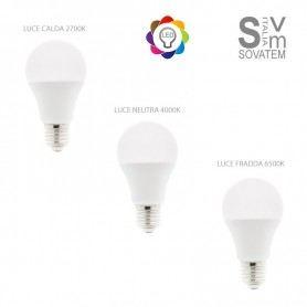 LAMPADA LED ATTECCO E27 12W E27 DISPONIBILE IN LUCE CALDA - NEUTRA - FREDDA DA6010DURALAMP
