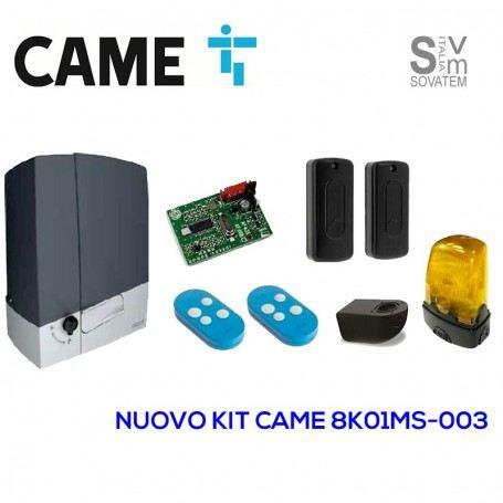 Automazione completa Came Scorrevole 8K01MS-003 24V 400 KG + 2 telecomandi CAM8K01MS-003-tmcCAME