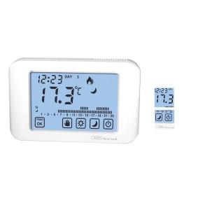 Cronotermostato digitale settimanale hager 56130 eco prog for Programmazione cronotermostato vimar 01910