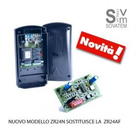 NUOVO QUADRO COMANDO CAME ZR24N CON DECODIFICA RADIO CON SCHEDA RADIO INTEGRATA CAM8K09QA-002CAME