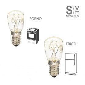LAMPADA PICCOLA PERA SPECIALE IDEALE FORNO E FRIGO MISURE 25X57 E14 15W 3000K 00121-120DURALAMP