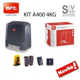 KIT BFT DEIMOS BT A400 R925266 COMPLETO CANCELLO SCORREVOLE FINO A 400 KG 24V R92526600002BFT
