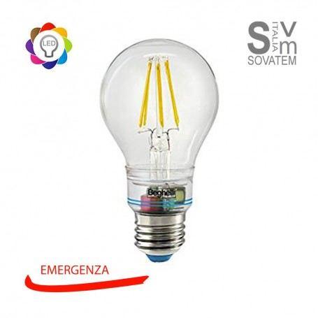 LAMPADA EMERGENZA BEGHELLI SORPRESA ZAFIRO LED ANTI BLACK-OUT BEG56305ABEGHELLI
