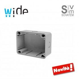 SCATOLA DA PARETE IP67 PER CUSTODIA WIDE PER 4Box 4B.W.RAL.015 Wide 4BX4BWBRAL4BOX