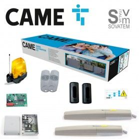 KIT CANCELLO BATTENTE COMPLETO CAME 8K01MP-012 ANTE FINO A 2 M, 24V AXI20K05 8K01MP-012CAME