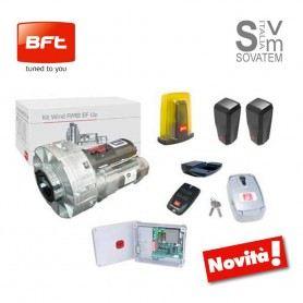 KIT COMPLETO AUTOMAZIONE SERRANDA FINO A 130 KG BFT WIND RMB 130B 200-230V R965004BFT