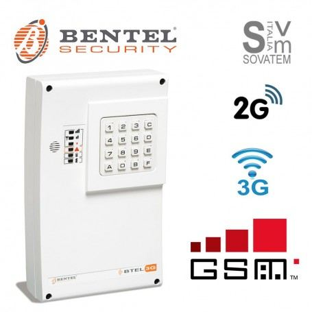COMBINATORE TELEFONICO BENTEL BTEL-GSM 2G/3G VOCALE SMS 4 CANALI ALLARME BTEL-3GBENTEL