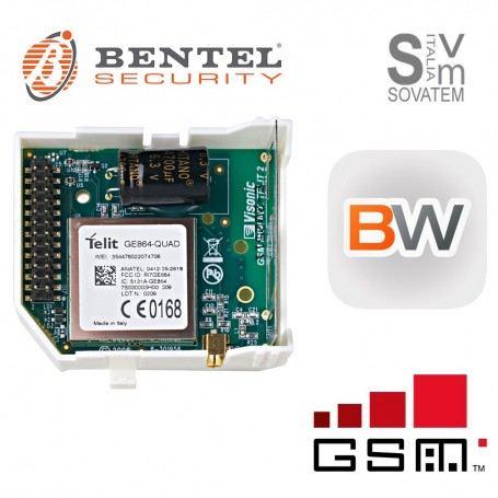 BENTEL BW-COM COMUNICATORE GSM/GPRS PER CENTRALI VIA RADIO SERIE BW BW-COMBENTEL