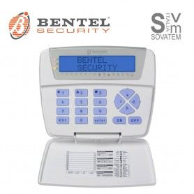 TASTIERA CLASSICA BENTEL BKB-LCD CON LCD DI COLORE BLU ALLARME KYO - ABSOLUTA BKB-LCDBENTEL
