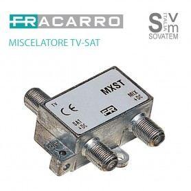 FRACARRO MXST MISCELATORE DEMISCELATORE DA INTERNO TV-SAT CONNETTORE F 226400FRACARRO