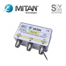 COMMUTATORE SWITCH DECODER SKY TIVUSAT TVSAT MITAN S1L10 S1L10MITAN