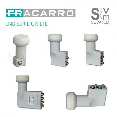 LNB FRACARRO SERIE UX-LTE UNIVERSALE 2-4-8 USCITE - E 4 USCITE POLARIZZATE V/H LNB-SERIE-UXFRACARRO