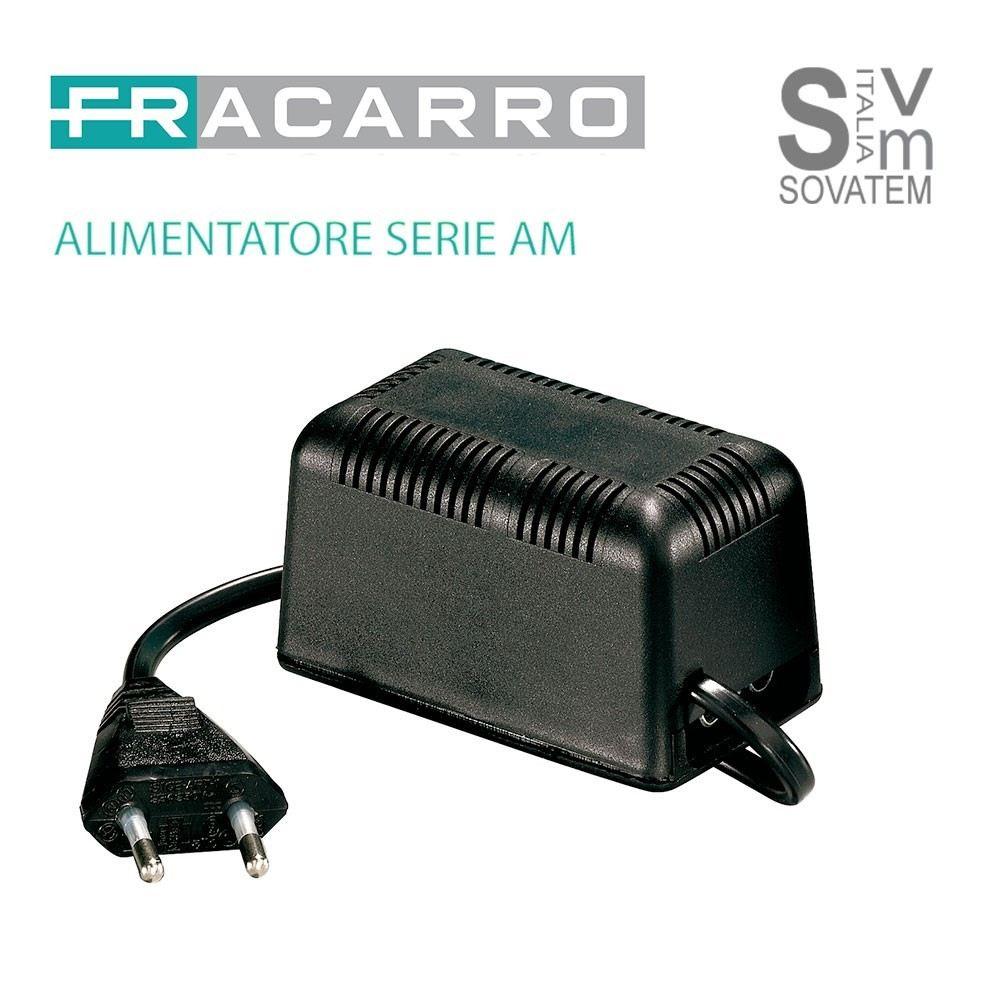 ALIMENTATORE FRACARRO SERIE AM 12V DA 50 - 100MA 1-2 USCITE CONNETTORE COASSIALE ALIMENTATORE-SERIE-AMFRACARRO