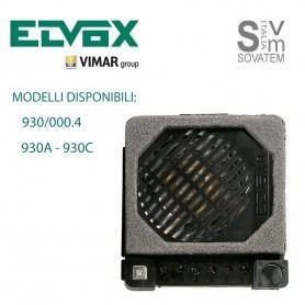 POSTO ESTERNO ELVOX SERIE 930 PER IMPIANTI ELETTRONICI MODELLO A E C E 930/000.4 POSTO-ESTERNO-930ELVOX
