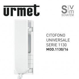 CITOFONO UNIVERSALE URMET 1130/16 COLORE AVORIO UTILIZZABILE SU IMPIANTI 4+1 1+N UTD1130/16URMET