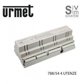 SCATOLA RELE URMET 788-51-52 PER 2 O 4 UTENZE AUDIO E VIDEO INTERCOMUNICANTE SCATOLA-RELE-URMETURMET