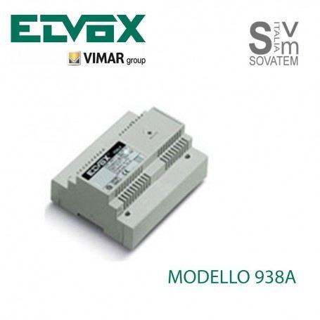ALIMENTATORE VIMAR ELVOX 938A INTERCOMUNICANTE PER SISTEMI SOUND SYSTEM 220V 938AELVOX