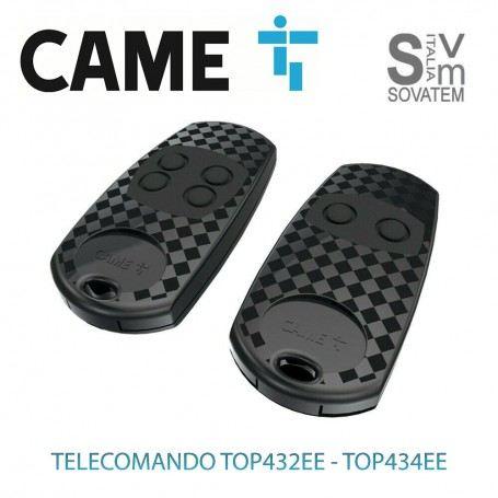 TELECOMANDO CAME TOP432EE E 434EE BICANALE E QUADRICANALE EX TOP432NA E TOP434NA TELECOMANDO-CAME-TOPCAME