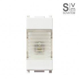 LAMPADA EMERGENZA LED 1 MODULO 230V VIMAR PLANA 14382 14382VIMAR