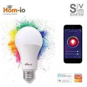 LAMPADA WIFI HOM-iO -10W-RGBW E27 - 1050LM - RGB LUCE W2700K ALEXA GOOGLE HOME 559593001HOM-IO