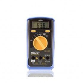 MULTIMETRO DIGITALE ASITA MD321 DISPLAY LCD PICCOLO RUBOSTO AC-DC MD321ASITA