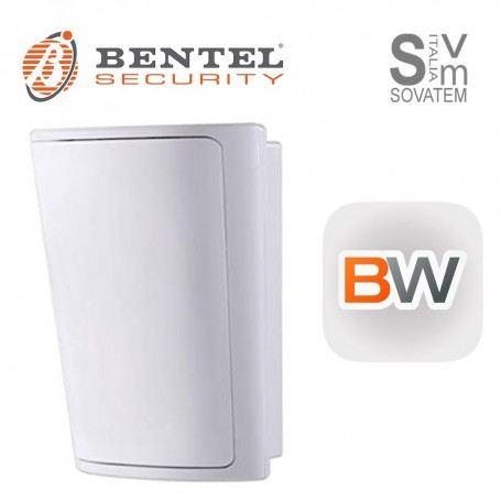 SENSORE PIR WIRELESS BENTEL SERIE BW-802 RILEVATORE MOVIMENTO E TEMPERATURA ELBW-802BENTEL