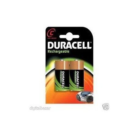 DURACELL DC1400 - BATTERIE MEZZA TORCIA RICARICABILI 1,2V DC1400DURACELL