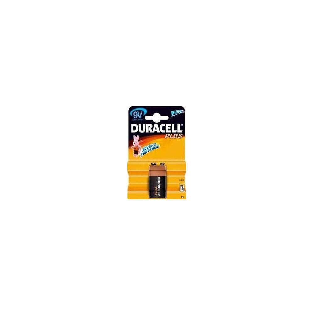 Duracell mn1604 batteria 9v alkalina for Porta batteria 9v